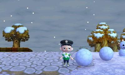 の 雪だるま どうぶつ 森