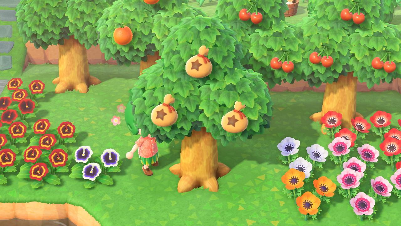お金 の 木 あつ 森